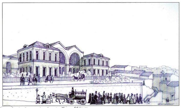 Histoire de la gare saint charles marseille