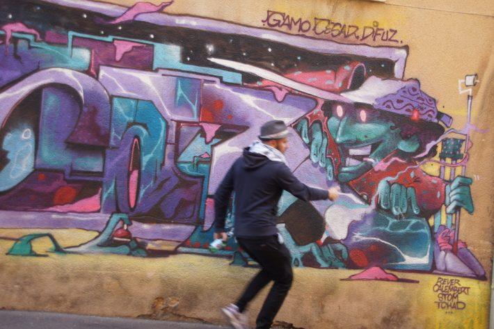 street art tour panier marseille