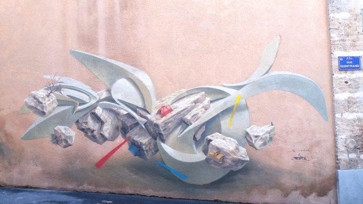 street art le panier graff panier